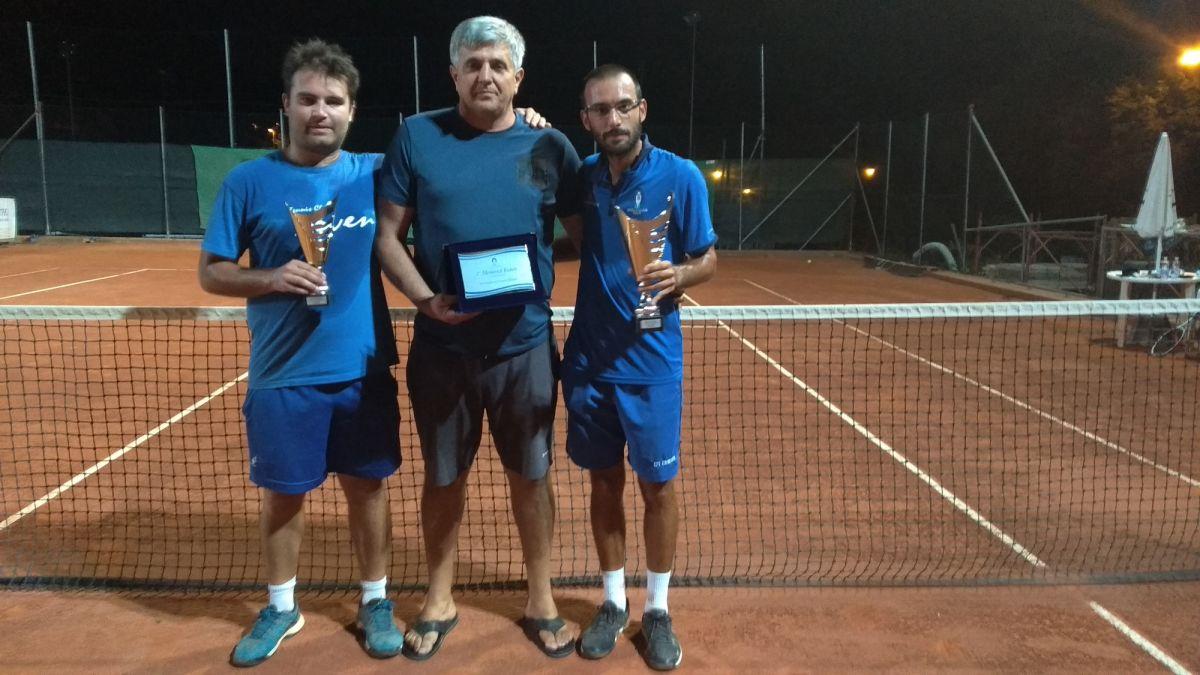 Fanfano e Aggravi conquistano il titolo del torneo di 3° cat. in memoria di Ruben
