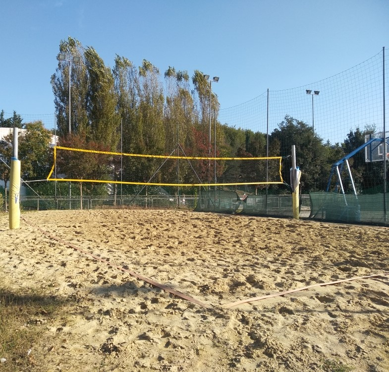Campo da Beach Volley e Beach Tennis